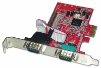 Lindy 2 Port RS-232 Serial & 1 Port Parallel Card, PCI Express