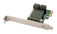 Lindy 4 Port SATA 3 Card, PCIe