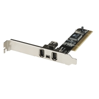 Lindy FireWire Card 3+1 Port PCI
