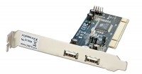 Lindy USB Card - 2+2 Port USB 2.0, PCI (32 Bit)