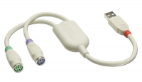 Lindy USB to PS/2 Converter Cable