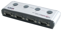 Lindy USB to Serial Adapter - 4 Port (9 Way, RS-232)