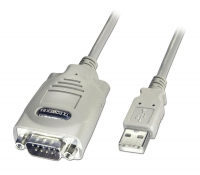 Lindy USB to Serial Adapter - 9 Way (RS-422), 1m