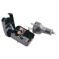 Lindy Earthed Schuko Plug Converter