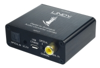 Lindy SPDIF Digital to Analogue Stereo Audio Converter Combo