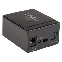 Lindy 2 Port TosLink Digital Optical Audio Switch
