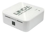 Lindy Audiosplitter Toslink S/PDIF 4 Port