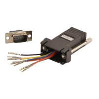 Lindy Adapter 9-pin Sub-D male to RJ45 female