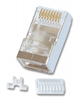Lindy RJ-45 Male Connector, 8 Pin STP CAT6, Pack of 10