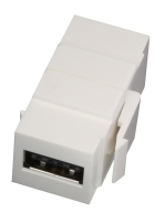 Lindy Reversible USB A/A F/F Keystone