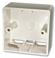 Lindy Surface Mount Back Box, 45mm depth for DE standard
