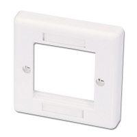 Lindy Single Gang Snap In Face Plate (2 Module)