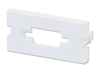 Lindy Snap-in Blank VGA Block, 4 Pack