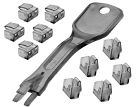 Lindy RJ45 Port Schloss (10 pieces) with key(s)