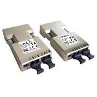 Lindy DVI-D Extender 500m Fiber 2x Duplex LC (50µm)