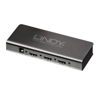 Lindy HDMI 2.0 4K60 UHD/HDR Splitter 2 Port (18GBit/s. HDMI 2.0 Full Spec.)
