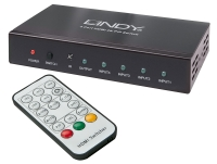 Lindy 4 Port HDMI 4K Switch