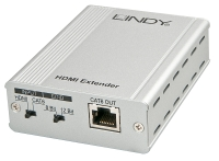 Lindy 40m CAT6 HDMI Receiver/Extender, 1080p