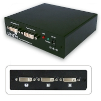 Lindy 4 Port DVI-D Dual Link Video Splitter