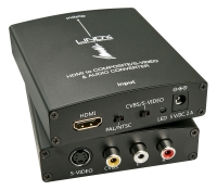 Lindy HDMI on SVHS/S-Video or Composite Video & Audio Converter