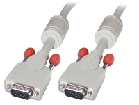 Lindy VGA Cable M/M, cool grey, 1m
