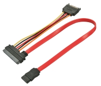 Lindy Internal SATA combo cable 0.5m