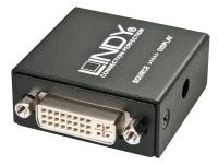 Lindy DVI Dual Link Extender via DVI-D cable 20m