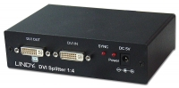 Lindy DVI Digital Video Splitter, 4 Port Distribution Amplifier