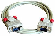 Lindy 9-pin RS232 1:1 cable 2m