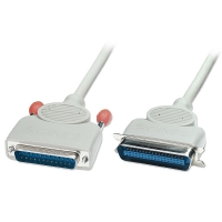 Lindy Bi-Directional PC Parallel Printer Cable (25DM/36CM), 3m