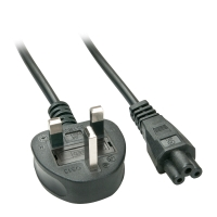 Lindy UK Mains Power Cable, 2m