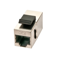 Lindy Cat.6 STP RJ45 female coupler Keystone Classic