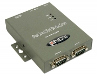 Lindy 2 Port IP Serial Server