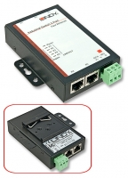 Lindy 5 Port Industrial Switch 10/100Mbps for cabinet (panel mounting)