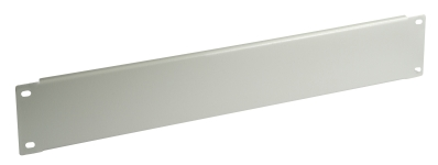 Blank Panel, 2U, for LINDY Upright and Wall Housing