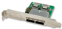 Lindy MiniSAS Slot Adapter Host, 2x SFF8087 (internal) to 2x SFF8088 (external)
