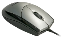 Lindy Optical USB Mouse, Black & Silver