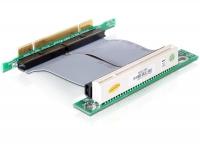 Delock Riser card PCI 32 Bit with flexible cable 7 cm left insertion