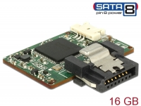 Delock SATA 6 Gb/s DOM Module 16 GB MLC SATA Pin 8 power -40 °C ~ 85 °C