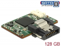 Delock SATA 6 Gb/s DOM Module 128 GB MLC SATA Pin 8 power -40 °C ~ 85 °C