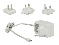 Tragant External power supply USB micro B Stecker 5,1V 2A - white - Raspberry 3