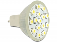 Delock Lighting MR11 LED illuminant 1.0 W warm white 15 x SMD