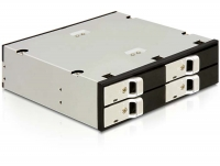 Delock 5.25 Mobile Rack for 4 x 2.5 SATA HDD