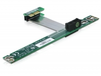 Delock Riser card PCI Express x1 with flexible cable 7 cm