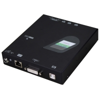 ROLINE KVM Extender over Gigabit Ethernet, DVI, USB, Transmitter (TX)