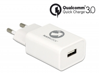 Navilock Charger 1 x USB type A with Qualcomm® Quick Charge™ 3.0 white