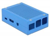 Visual Data GEHÄUSE EM-59247 C2 für Raspberry PI 2/3 Board Model B - Farbe blau