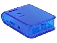 Tragant Enclosure EM-59231 C2 für Raspberry PI 2/3 Model B - Color translucent blue