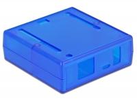 Tragant GEHÄUSE EM-59235 C1 für Leonardo/M0 PRO/UNO/YUN - Transparent blau - Testgehäuse