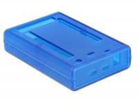 Tragant GEHÄUSE EM-59237 C1 für Arduino Due - Transparent blau - Testgehäuse